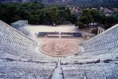 an overview of theater in ancient greece The ancient greek word drama came to mean written play and the ancient greek word theater came the overall picture of early modern greek theater history.