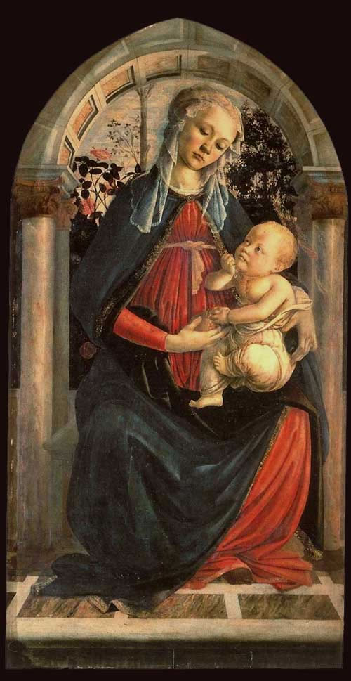 madonna and child sandro botticelli