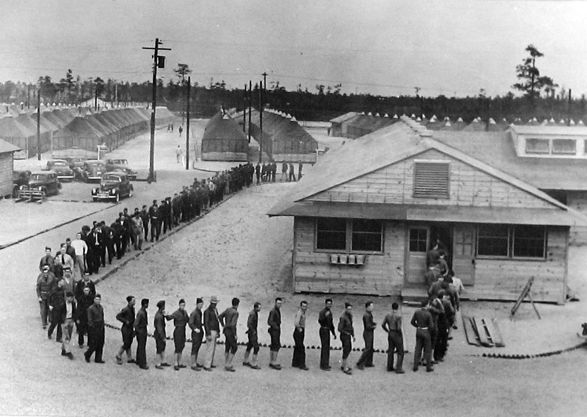 The utilization of the selective service act in america during the world war i
