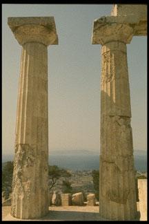 pictures of geek doric columns