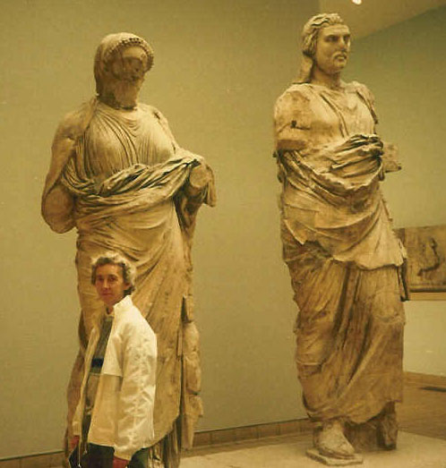 Royalty Free Pictures of Greek Statues at British Museum