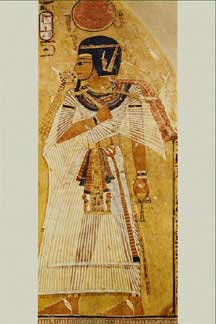 Wall paintings of ancient egypt related to burial for Egyptian fresco mural painting
