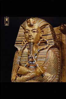 Pictures of Items from King Tut's Tomb