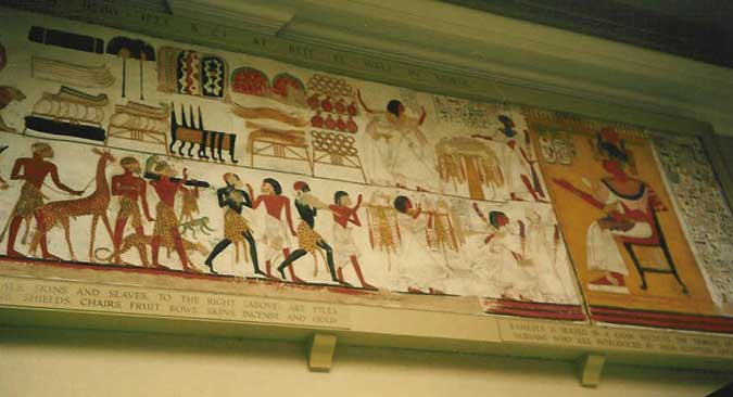 Royalty free pictures of egyptian wall paintings for Egyptian fresco mural painting