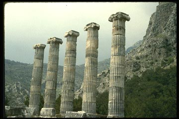 Temples of Apollo and Athena in Turkey