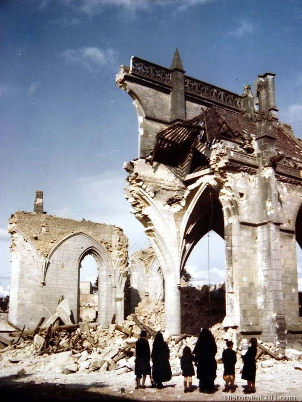 color pictures of world war ii bomb damage royalty free. Black Bedroom Furniture Sets. Home Design Ideas