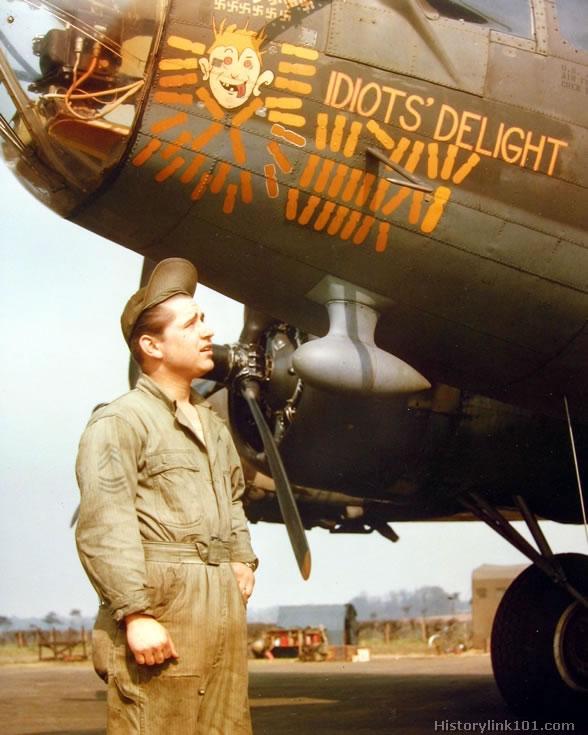 Bombarderos Seg. Guerra Mundial en Color