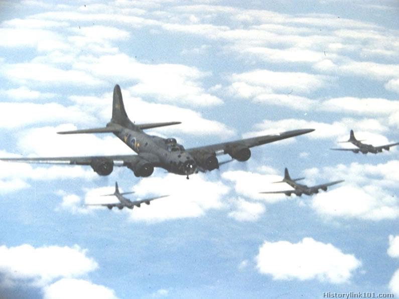 B-17 Flying Fortress el mejor bombardero pesado de la ...