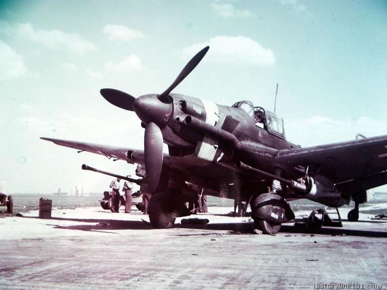 La Segunda Guerra Mundial a color - Aviones de combate