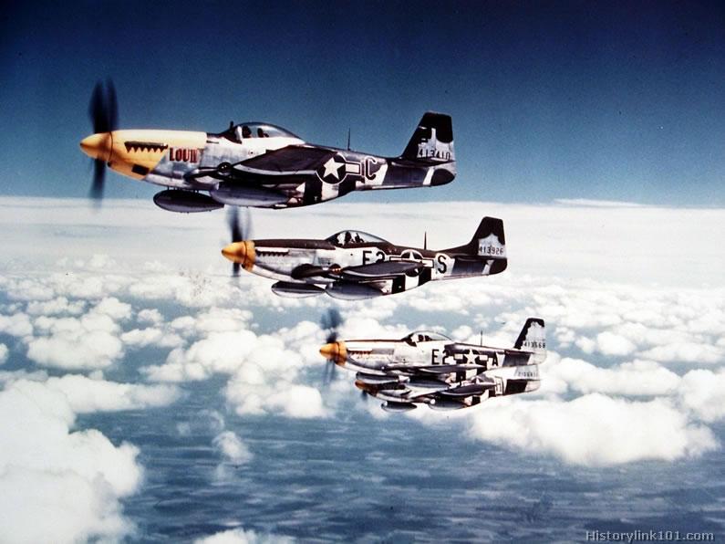 La Segunda Guerra Mundial A Color Aviones De Combate 2