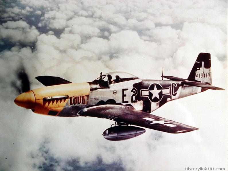 Color Pictures of World War II Planes Royalty Free*