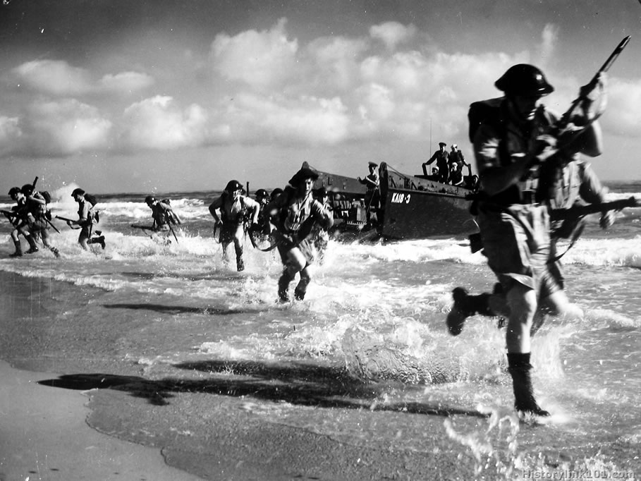 D Day Invasion Royalty Free Picture of D-Day