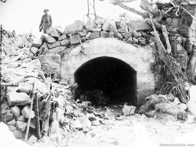 Bunker Tunnel System Map: Pictures Of The Marines In The Pacific Durning World War